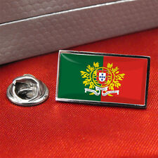 Portuguese Army Flag Lapel Pin Badge/Tie Pin