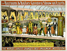 Repro Circus Print for Barnum & Bailey 1899a