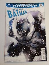 BATMAN ALL STAR #6 VARIANT DC UNIVERSE REBIRTH COMICS MARCH 2017 NM (9.4)
