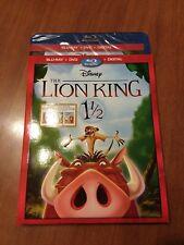 AUTHENTIC DISNEY - Lion King 1 1/2 blu ray + dvd + digital - Brand New