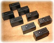 Relay, DPST, NO, 12VDC, 8A, PCB-THT (Potter & Brumfield RTE44012F) (Lot/8)(Used)