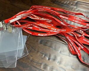 Snap On Tools Collectible Lanyard With ID Holder