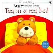 Ted in a Red Bed (Easy Words to Read Series) by Cox, Phil Roxbee