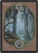 TCG MtG 182 Magic the Gathering Unglued Full Art Land Swamp