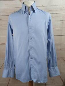 Claudio Lugli Italian Designer Blue Smart Men's Shirt size XL