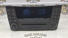 MERCEDES E-CLASS W211 RADIO CD PLAYER CONTROL PANEL UNIT A2118702189 2002-2006