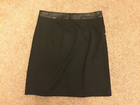 Dorothy Perkins Black Mini Skirt (Size 6) ***NEW WITH TAGS***