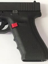 Extended  RED Magazine Release Fits Glock Gen4 9mm.40 cal.45 GAP.357 Small Frame