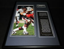 Dick Butkus Framed 12x18 Photo Display Chicago Bears