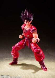 NEW! Bandai Tamashii Nations S.H. Figuarts Dragon Ball Z Son Goku Kaioken Action