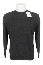 Maglione girocollo lana grigio man FENZI dark grey crewneck sweater wool SIZE 54