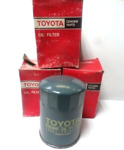 TOYOTA OIL FILTER 75601-78101-71, 7-9 GPM, 21 MICRON, WIX COMP #51515, LOT OF 3