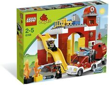New Sealed Lego Duplo Fire station 6168 Rare Discontinued & Retired Set