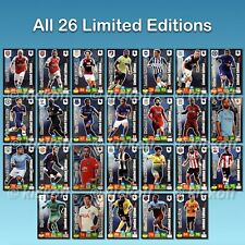 Panini Adrenalyn XL 2019-2020. Premier League LIMITED EDITIONS. All 26. New