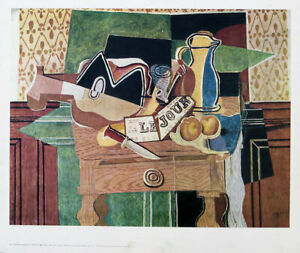 Georges BRAQUE Le Jour Still Life With Guitar Offset LIthograph