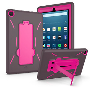 """For Amazon Fire 7 2019 9th Gen 7"""" Tablet Case Three Layer Cover+Screen Protector"""