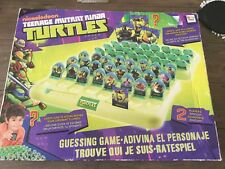 Nickelodeon Teenage Mutant Nina Turtles Guess Who Jeu Complet
