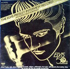 ELVIS PRESLEY - INTERVIEW RECORD / AUDIO SELF PORTRAIT- RCA DJMI-0835 - PROMO LP