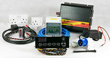 Camper/Autocaravana completo kit de conversión de cableado eléctrico Split-charge Hook-Up 12V