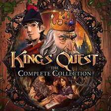 KING'S QUEST: THE COMPLETE COLLECTION - Steam chiave key - Gioco PC Game - ROW