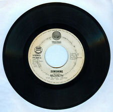 Philippines NAZARETH Sunshine 45 rpm Record