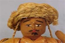 Guatamala Cloth Doll Vintage Guatamalan Man Folk Art