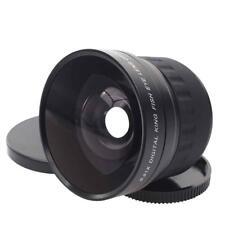 58mm 0.21 times Ultra wide-angle lens Fish glasses Universal use Nikon 18-55 hot