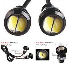 2X Car Motorcycle 12V LED Eagle Eye Daytime Running DRL Tail Light Backup Lamps