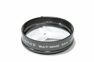 Kood Multi image x3 Filter Made in Japan 52mm (UK Stock) BNIP suits 52mm Filter