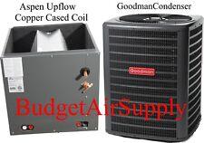 Goodman 5 ton 14 seer Condenser +Aspen 5 ton Copper Cased coil AHRI Match