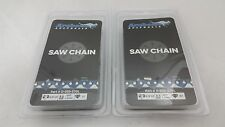 "2 Pack 16"" Chainsaw Chain 3/8LP-050-57DL repl. Poulan Echo 91VXL057G 63PM57 S57"