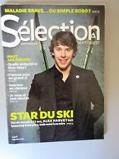 "Selection Reader's Digest Magazine Fevrier 2012 New ""Star du Sk i- Alex  Harvey"""