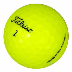 48 Titleist NXT Tour S Yellow Mix Mint Used Golf Balls AAAAA *In a Free Bucket!*