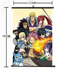 Japan Anime FAIRY TAIL home decor Wall Scroll Poster cosplay 191