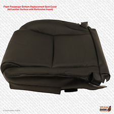 2006-2013 Lexus IS250 IS350 Passenger Bottom Perforated Leather Seat Cover Black