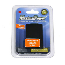MaximalPower DB SAM BP80W Replacement Lithium Battery for Samsung IA-BP80W