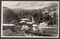 Postcard Boscastle near Tintagel Cornwall overview of The Village RP
