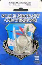 SAC 1:32 Mirage III Landing Gear for Revell White Metal Detail Set #32030