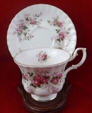 Royal Albert Lavender Rose Cup and Saucer Bone China Montrose Shape