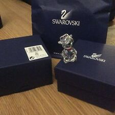 SWAROVSKI International Kris Bear Johnny USA cowboy 883413 Comme neuf in box, retraité