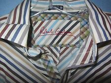 Robert Graham 100% cotton button front shirt sz XL