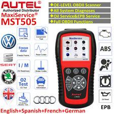 AUTEL MST505 OBD2 Diagnostic Scanner Tool EPB Oil Service for VW Audi Seat Skoda