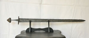 VIKING Great Battle Sword 92,5 cm 36 inch 10/12th cent AD Original177 MUST BUY
