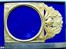 MINI Petit Fronton horloge comtoise  copie recente clock soleil Morbier Uhr