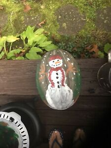 Hand Painted Vintage Jell-O Mold