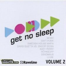 GET NO SLEEP VOL.2 2 CD NEUWARE DISCO/DANCE HOUSE ELECTRO