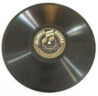 Vtg COLUMBIA 78 Record Samuel Siegel - MANDOLIN - Sugar Plum, Longing for Home