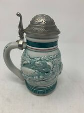 1991 Avon Endangered Species Sperm Whale Miniature Stein - Preowned