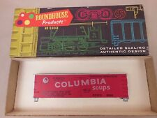 HO SCALE ROUNDHOUSE 3130 COLUMBIA SOUPS OLD TIMER 36' BILLBOARD REEFER KIT