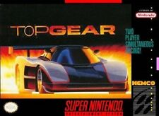 Top Gear - SNES Super Nintendo Game